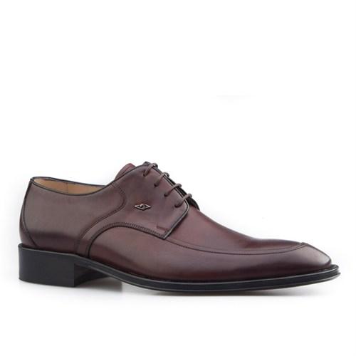 Nevzat Onay Bağcıklı Klasik Erkek Ayakkabı Kahve Antik Deri