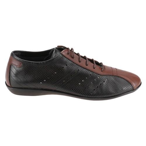 Salvano 59104-1 M 1618 Siyah Erkek Deri Ayakkabı