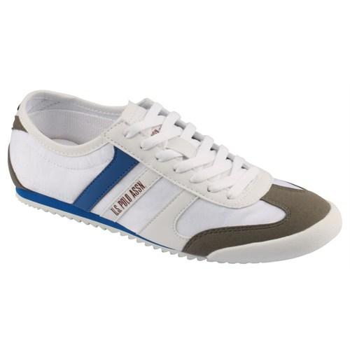 U.S. Polo Assn. Beyaz Mavi Erkek Ayakkabı