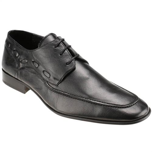 Garamond 655 M 1366 Siyah Erkek Deri Ayakkabı