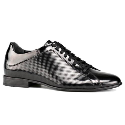Oxide 342 M 1453 Siyah Erkek Deri Ayakkabı