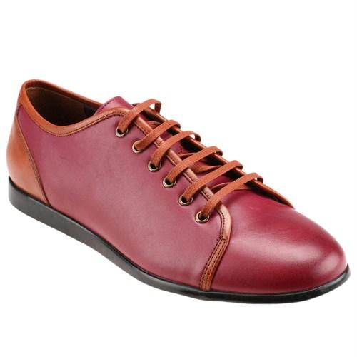Oxide 49300-4-15 M 1300 Bordo Erkek Deri Ayakkabı