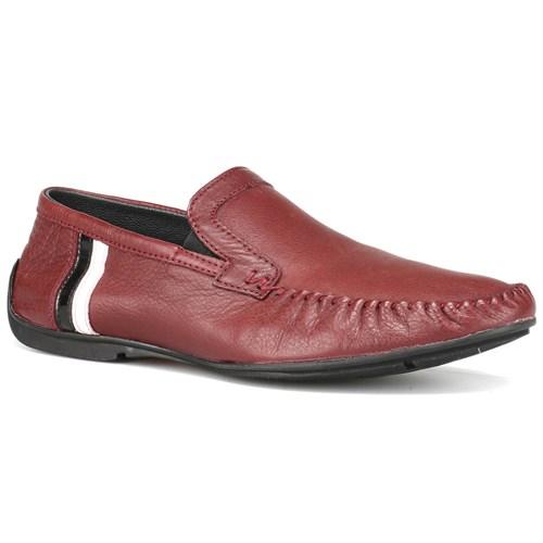 Panama Club Bordo Erkek Deri Ayakkabı