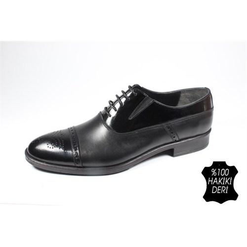 Pablo 222-4052 Siyah Erkek Klasik Ayakkabı