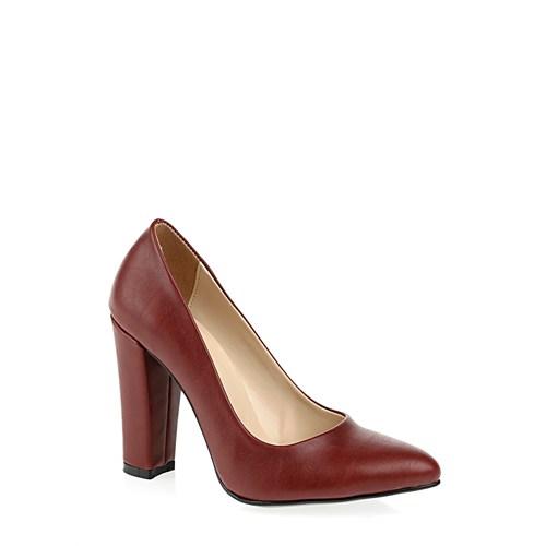 Derigo Bordo Kadın Ayakkabı 2818182