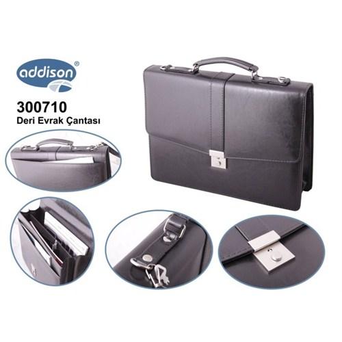 Addison 300710 SİYAH Evrak Çantası