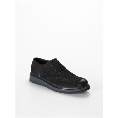 Cml Hakiki Deri Nubuk Erkek Günlük Ayakkabı Ec105 Cmlec10515.014