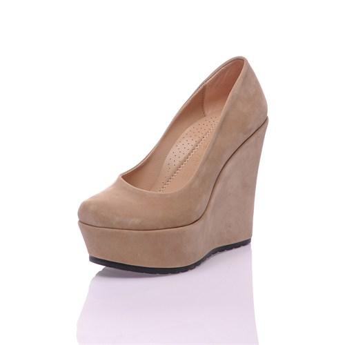 Dnc Vizon Süet Kadın Ayakkabı 10210108