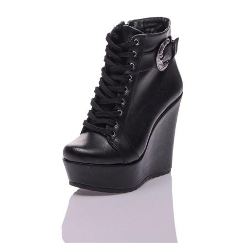 Dnc Siyah Cilt Kadın Bot 10210201