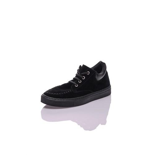 Dnc Siyah Süet Kadın Ayakkabı 10410202