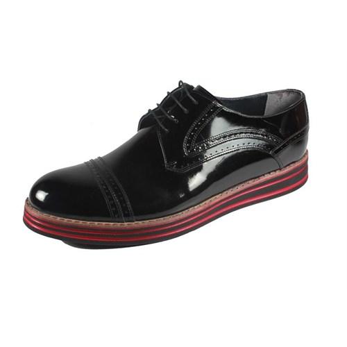 Pablo 220-22 Siyah Rugan Erkek Ayakkabı
