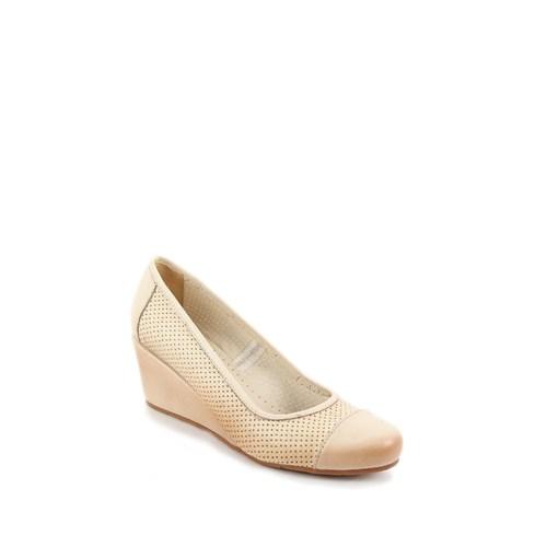 Gön Deri Kadın Ayakkabı 22232
