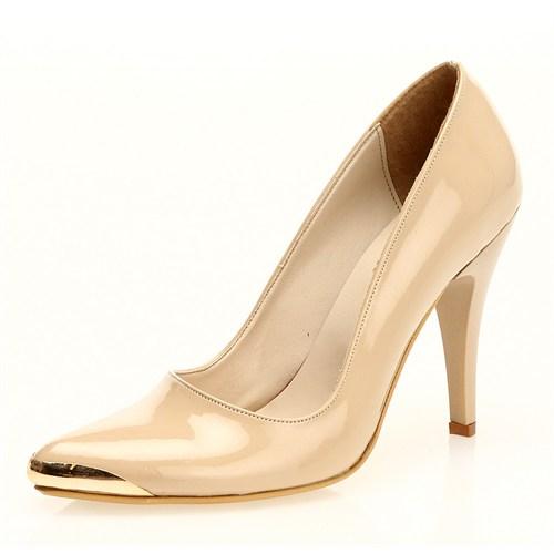 Sothe MAS-011 Ten Bayan Klasik Topuklu Ayakkabı