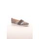Gio&Mi Hs-Drbbt05 Gri Yılan Süet Ayakkabı
