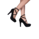 Loggalin 580901 031 008 Kadın Siyah Platform Ayakkabı