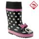 Pink Step Dain-11 Siyah Çocuk Çizme