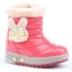 Twingo 9015 İçi Termal Kürklü Işıklı Kız Çocuk Bot Ayakkabı