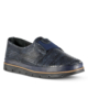 Marjin Milana Deri Düz Ayakkabı Lacivert