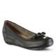 Marjin Ultan Dolgu Topuklu Deri Ayakkabı Siyah