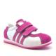 Raker Hakiki Deri Cırtlı Fuşya Kız Çocuk Spor Ayakkabısı