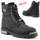 Jump 14505-B %100 Deri Motorcu Çizme Erkek Bot Ayakkabı