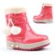 Twingo 9010 İçi Termal Kürklü Işıklı Kız Çocuk Bot Ayakkabı