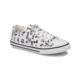 Kinetix Denni Print Beyaz Siyah Kız Çocuk Sneaker Ayakkabı