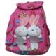 Adalinhome Tavşanlı Pembe Sırt Çocuk Çantası