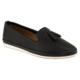 Estile 101-81 Çift Püskül Delikli Siyah Bayan Ayakkabı