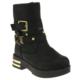 Vicco 954Y360 Tokalı Zımbalı Siyah Kız Çocuk Çizme