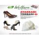 TveT Ayakkabı Torbası 10 Adet - Bayan