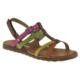 Toddler 4432 Tek Cırt Turuncu Çocuk Sandalet