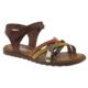 Toddler 4430 Tek Cırt Turuncu Çocuk Sandalet