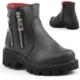 Pinokyo 6004 Kız Çocuk Kışlık Bot Ayakkabı İçi Termal Astarlı