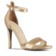 Marjin Serna Topuklu Ayakkabı Altın