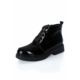 Tibu At809 Siyah Rugan Siyah Kucuk Taş Ayakkabı