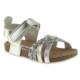 Toddler 4679 Tek Cırt Gümüş Çocuk Sandalet