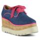 Marjin Tali Dolgu Topuk Ayakkabı Fuşya