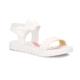 Polaris 71.509110.F Beyaz Kız Çocuk Basic Sandalet