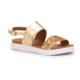 Pink Step Titi Altin Kız Çocuk Basic Sandalet