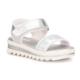 Polaris 71.509335.F Gümüş Kız Çocuk Basic Sandalet