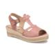 Miss F We01 Pembe Kadın Dolgu Topuk Ayakkabı