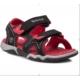 Timberland Black Wıth Red 3480A Advskr 2Strp Black/R Black Sandalet