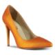Marjin Zela Topuklu Ayakkabı Turuncu