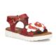 Polaris 71.509163.P Kırmızı Kız Çocuk Sandalet