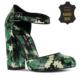 Marjin Lita Topuklu Ayakkabı Yeşil