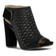 Marjin Viren Topuklu Ayakkabı Siyah Süet