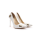 Shoes&Moda Bayan Stiletto Ayakkabı Beyaz