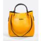 Tony Bellucci 151 Sarı Hakiki Deri Kadın Çapraz Çanta
