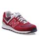 New Balance 574 Bordo Kadın Günlük Ayakkabı